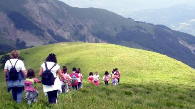 Una veduta del Parco dell'Appennino tosco-emiliano, riserva naturale che ora si fregia dell'importante titolo