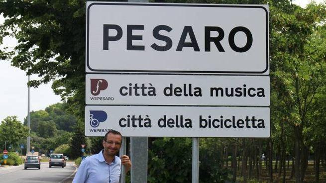 Pesaro, i nuovi cartelli alle porte della città