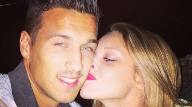 Luca Veratti insieme alla fidanzata Veronica, Miss Ferrara 2013