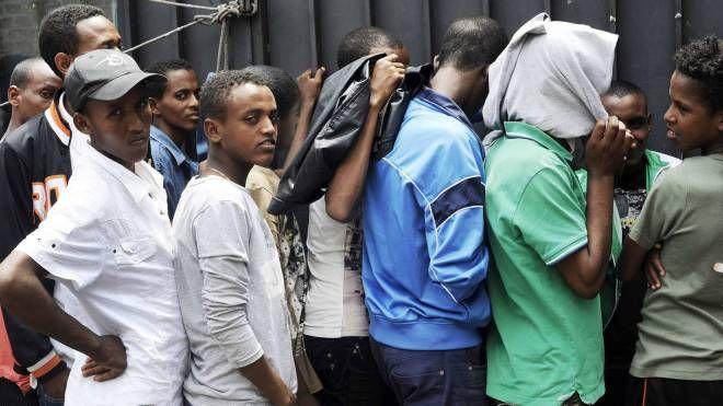 Migranti (Olycom)