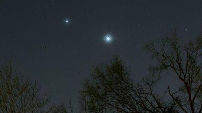 Giove e Venere vicinissimi