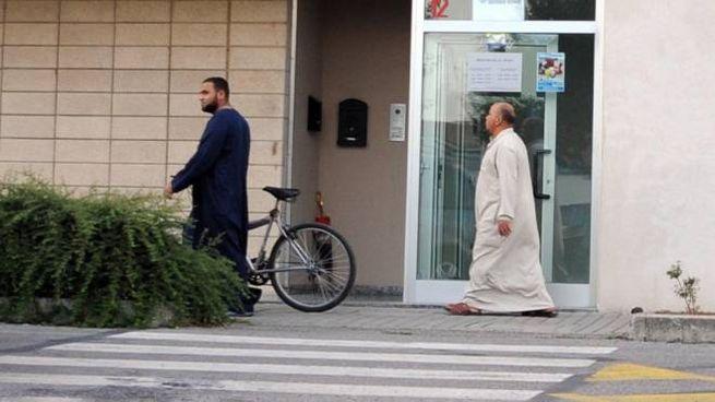 Il centro culturale islamico Stella in via Boccaccio a Inzago