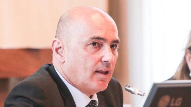 Il sindaco di Lanzada Marco Negrini