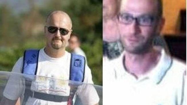 Le due vittime dell'incidente: Leonardo Ambrogetti, 55, Firenze e Stefano Boschi, 34, Pratovecchio