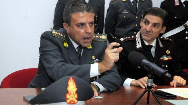 'Ndrangheta, le mani sulle scommesse web. La conferenza stampa degli investigatori (Lapresse)