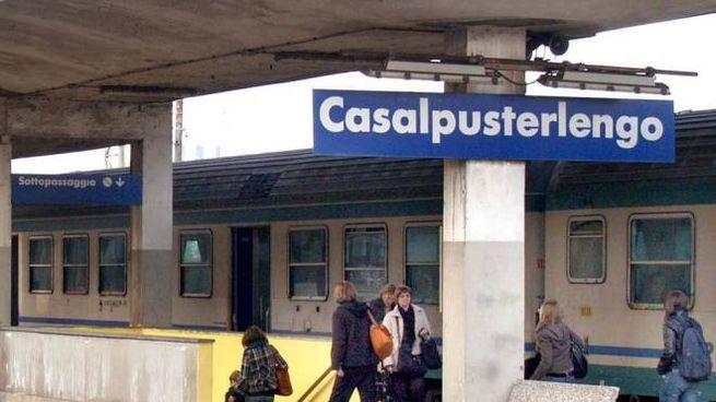 La stazione di Casalpusterlengo