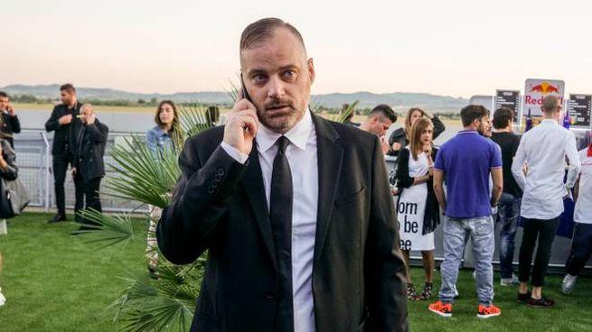 Fabrizio De Meis è anche presidente del Rimini Calcio (foto Bove)