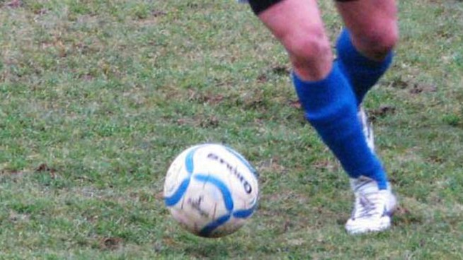 Una partita di calcio
