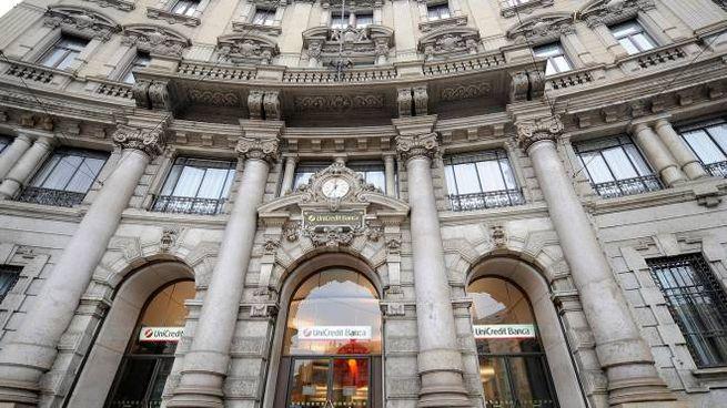 La facciata di Palazzo Broggi