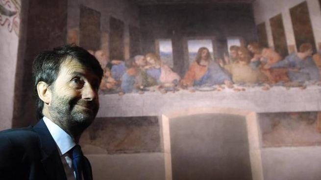 Il ministro della Cultura Dario Franceschini