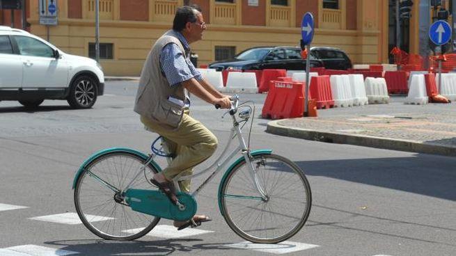 In bici (StudioSally)