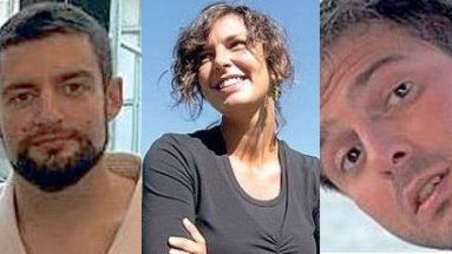 Daniele Buresta, Michela Caresani e Alberto Mastrogiuseppe: i tre sub dispersi nel Borneo