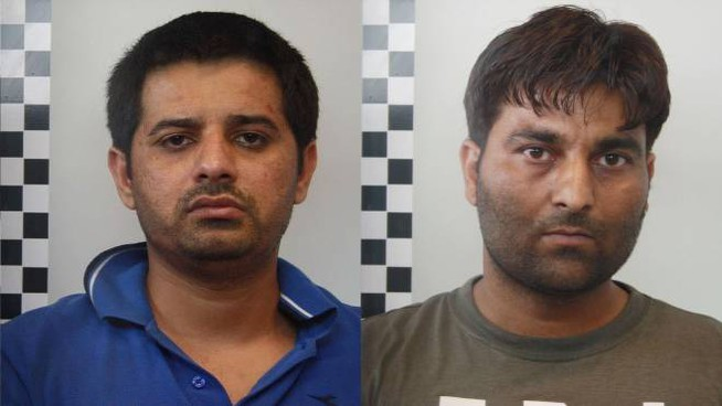 Adnan Muhammad e Singh Sardjit, ritenuti autori del duplice omicidio Seramondi-Ferrari