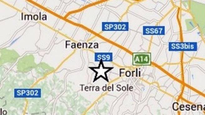 L'epicentro della scossa è stato vicino a Castrocaro Terme