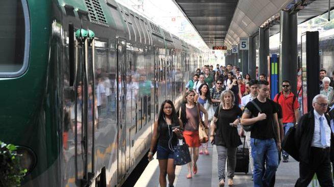 Pendolari sulle linee Trenord