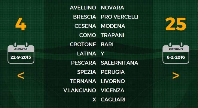 Calendario Serie B Bari.Serie B Il Calendario Via Con Perugia Como Livorno