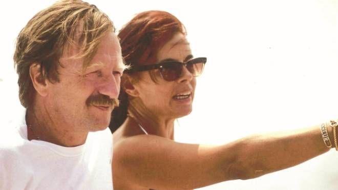 Giancarlo con la moglie Gianna Bigazzi