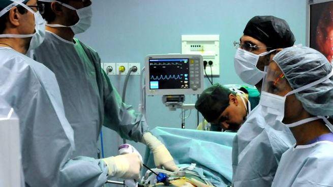 Una sala operatoria (foto d'archivio)