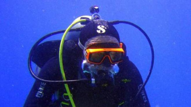 Un sub in immersione