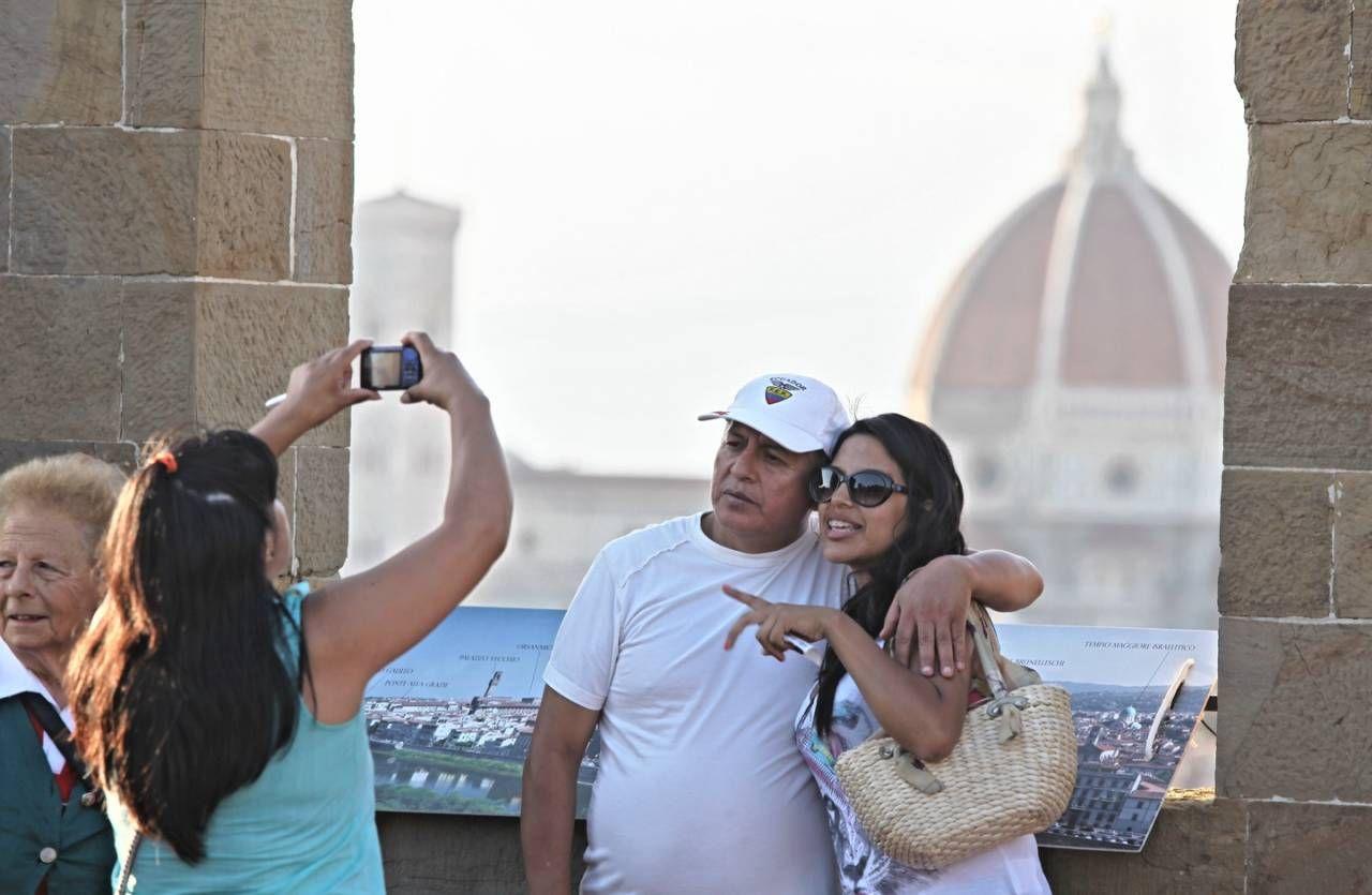 Ferragosto a Firenze (foto repertorio)