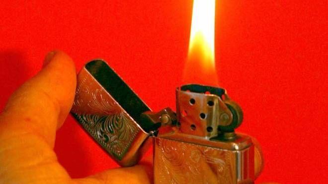 Un accendino (FotoFiocchi)