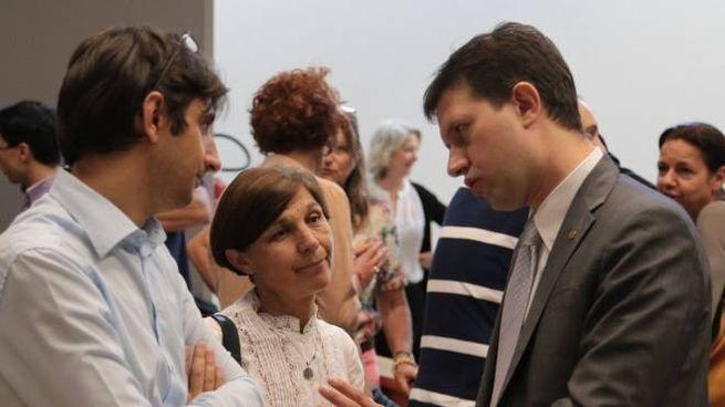 Il sindaco Nardella  al processo contro il Forteto (foto Cabras/New Pressphoto)