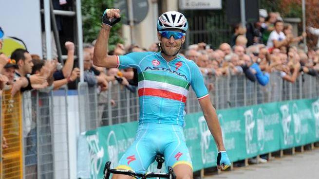Nibali vince la Bernocchi 2015 (StudioSally)