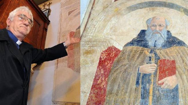 Don Natale Gabrielli e l'opera attribuita a Piero
