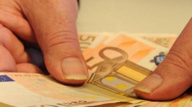 Banconote da 50 euro (Foto di repertorio Ansa)