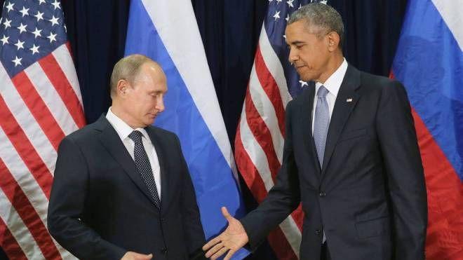 Vladimir Putin e Barack Obama (Olycom)