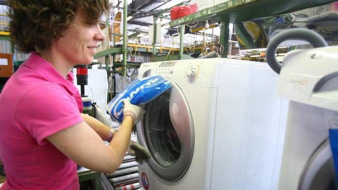 La fabbrica di Brugherio, l'ultima rimasta in Italia del Gruppo Candy