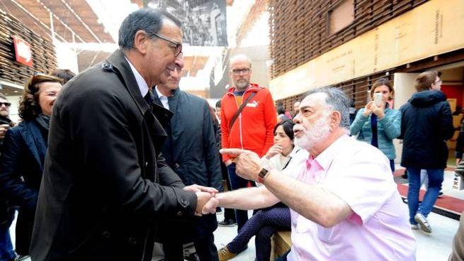 Giuseppe Sala e Ford Coppola a Expo
