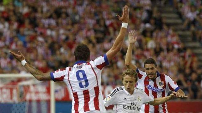 Atletico Madrid vince Supercoppa Spagna