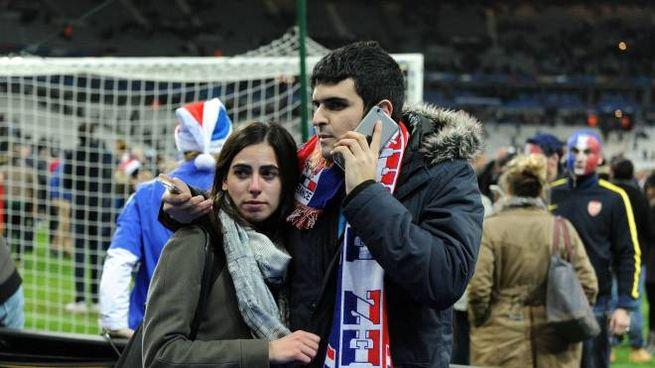 Terrore allo Stade de France (Olycom)