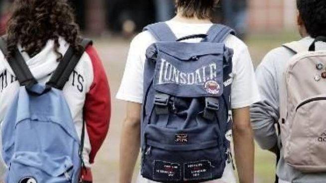 Ragazzi a scuola (Foto archivio )