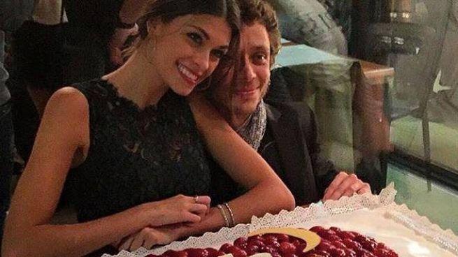 Linda Morselli e Valentino Rossi festeggiano il compleanno dei 27 anni di lei