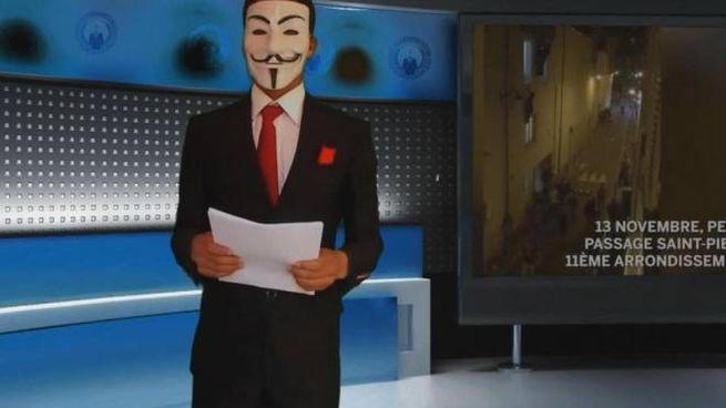 Il messaggio di Anonymous dopo i fatti di Parigi