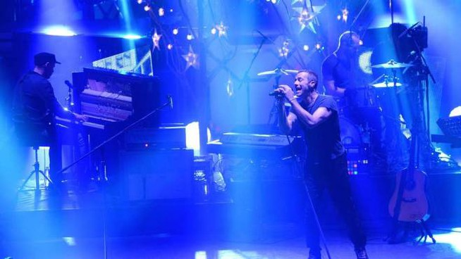 I Coldplay in concerto: presto il tour per A head full of dreams (Afp)