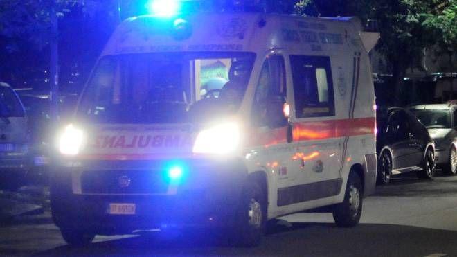 Sul posto ambulanza  e vigili del fuoco