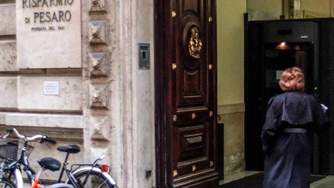 Il palazzo del Corso, sede a Pesaro di BdM