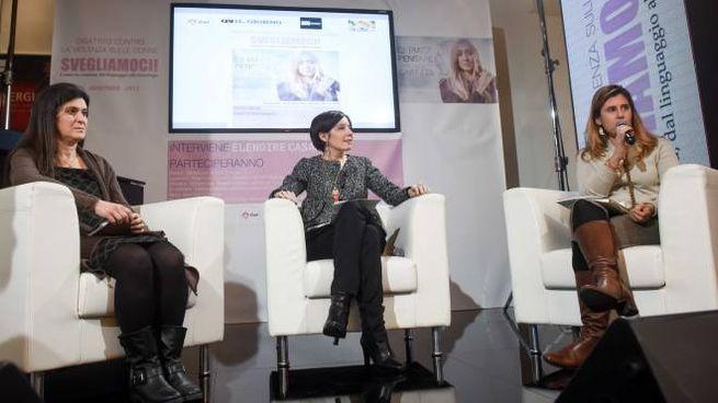 IMPEGNO Elenoire  CasalegnoRELATRICI   Eleonora Laffranchini, Gaia Avella  e Chiara Valentina Segrè (Newpress)