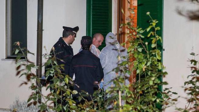 Omicidio-suicidio in via dei Ginepri, a Tirrenia (foto Salvini)