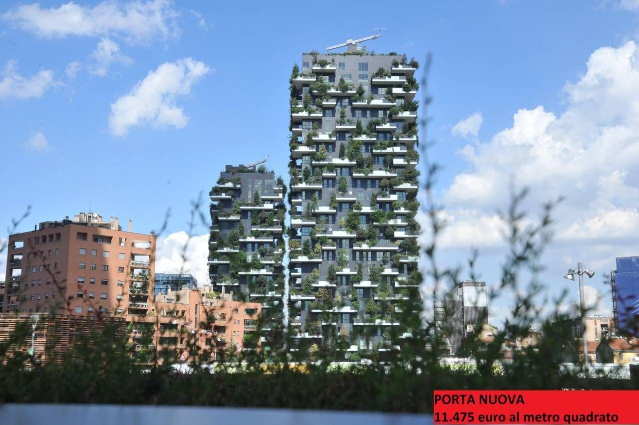 Bosco Verticale Appartamenti Costo casa a milano, ecco dove comprare costa di più: la