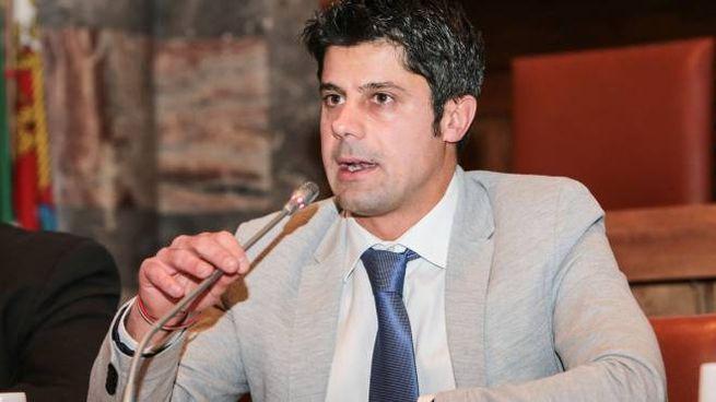 Il presidente della Provincia Luca Della Bitta