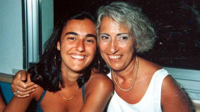 Eluana Englaro con la madre Saturna (LaPresse)