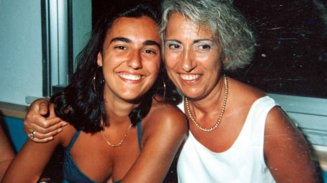 Eluana Englaro con la mamma Saturna