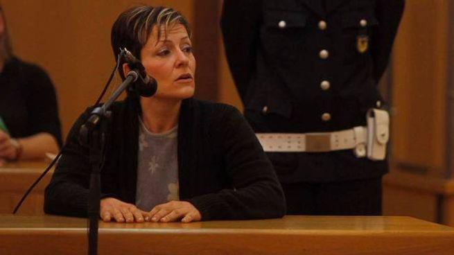 Ravenna, Daniela Poggiali in aula (Corelli)