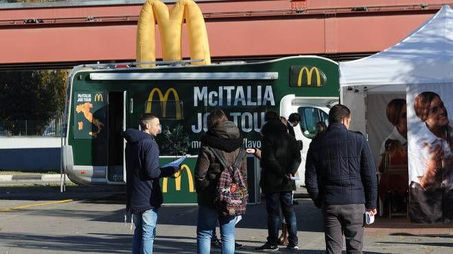 Colloqui di lavoro da McDonald's