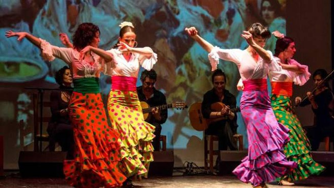 Lo spettacolo di Flamenco