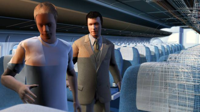 Un'immagine tratta dal videogioco, realizzato in collaborazione con l'associazione delle vittime